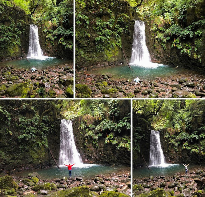 @Casey @SusanT ...from Victoria Falls (Zimbabwe) via Trilha Salto do Prego, Faial Da Terra, São Miguel, Azores/Portugal (37° 46′ 17″ N, 25° 27′ 43″ W) to Trettstein Falls, Wartmannsroth/Germany....with Mona-Liza