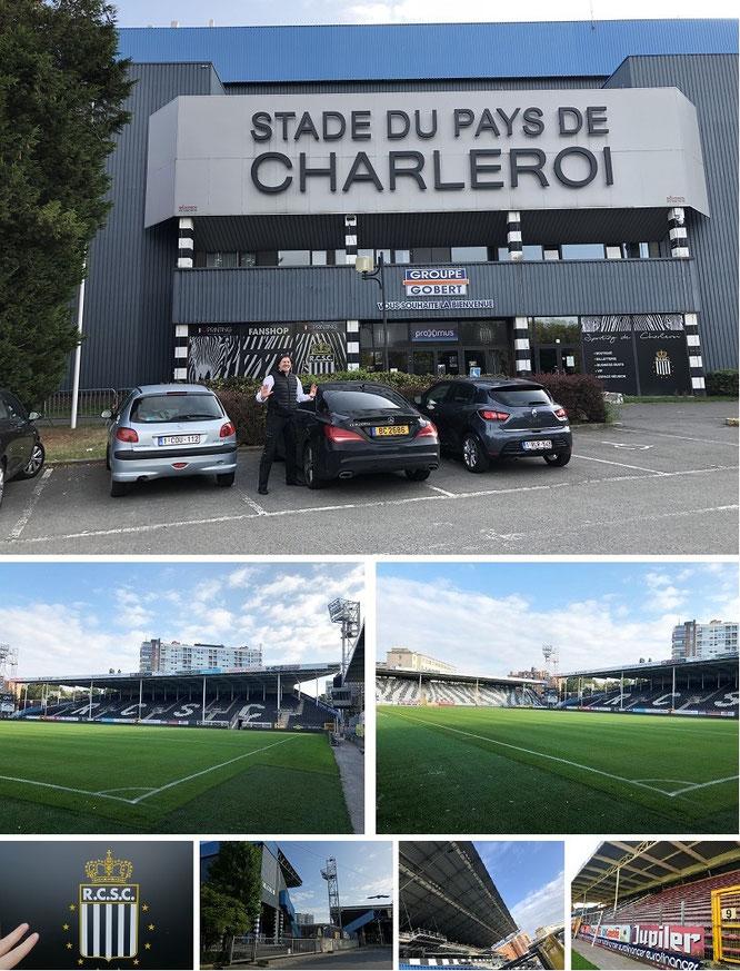 Stade du Pays de Charleroi (Sporting/RSC Charleroi), Charleroi, Belgium (50° 24′ 52.59″ N, 4° 27′ 13.63″ E)...