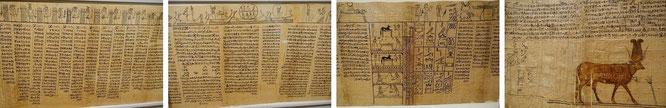 Ägyptisches Totenbuch, Original-Papyri...