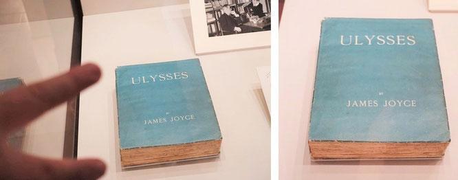 Irische Litaratur in limitierter Erstausgabe (da in Großbritannien und den USA verboten, Druck in Frankreich): Ulysses, James Joyce, 1922