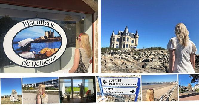 Carnac-Basislager (Sofitel Quiberon Thalassa Sea & Spa): Nicht 3, sondern 5 Tage Quiberon!