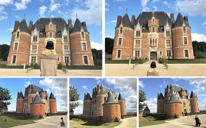 """Took these pics of Mona-Liza at Château Martainville, Martainville-Épreville/Seine-Maritime, Normandy, France (49° 27′ 30″ N, 1° 17′ 37″ E)."""