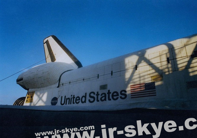 """""""Kennedy Space Center/Cape Canaveral in the morning sun, Merritt Island, Florida (28° 28′ 30″ N, 80° 33′ 10″ W)."""""""