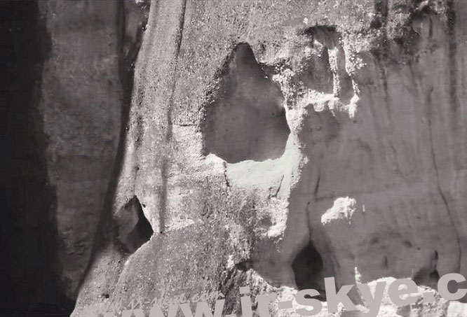 Felsenhöhlen um Monakón, Meteora