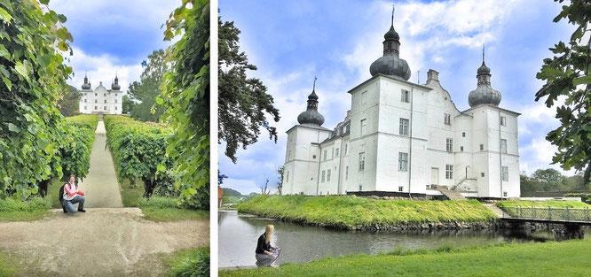 Schloss Engelsholm, Bredsten, Dänemark (55° 42′ 7″ N, 9° 22′ 52″ E). Chateau Ancy-le-Franc (Bourgogne) diente als Vorbild - besuche meine Frankreich-Seite und überzeuge Dich von Analogie und Kongruenz...