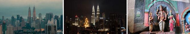 Kuala Lumpur, Malaysia -  3° 8′ 0″ N, 101° 42′ 0″ E  كوالا لومڤور