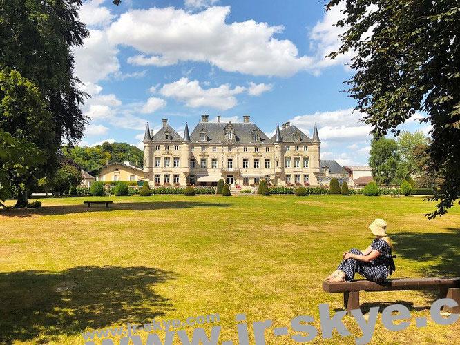 Von Wiltshire (England) nach Dieue-sur-Meuse (Frankreich) verlagert: Der Kontrakt des Zeichners, Château des Monthairons, 55320 Dieue-sur-Meuse, Frankreich - Perspektive A