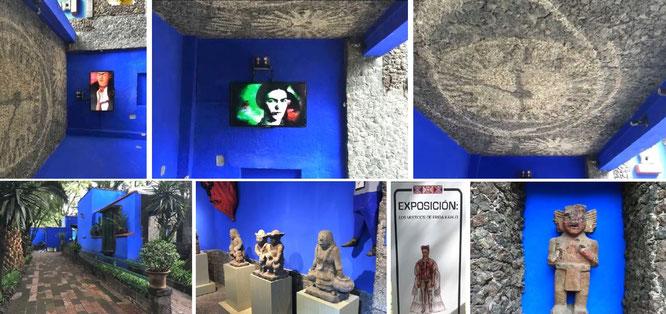 Azteken- und Maya-Kultur:  Diego Rivera stattete Fridas Wohnung (und damit dieses Museum im übertragenen Sinn) mit präkolumbianischen Plastiken aus. Großartiges, kulturelles Erbe!