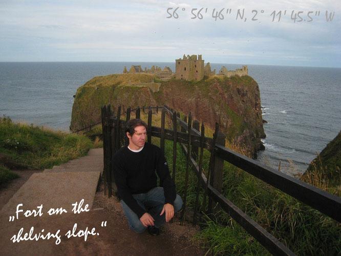 """""""Dunnottar Castle (Dùn Fhoithear), Stonehaven/Aberdeenshire, Scotland (56° 56′ 46″ N, 2° 11′ 45,5″ W).."""""""