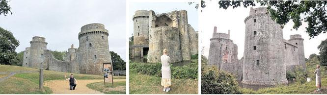 Château de la Hunaudaye, Plédéliac, Département Côtes-d'Armor...