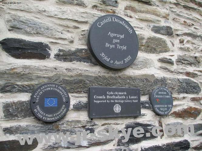 Größte Burgendichte weltweit: übernachten im Castell Deudraeth, Wales...