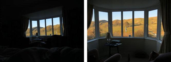 ...im Second Empire-, Stick- und Folk Victorian-Style eingerichtete Unterkunft. Eine phantastische, sternenklare Nacht mit unvergesslichem Ausblick auf die südlichen Ausläufer des Snowdonia Nationalparks!