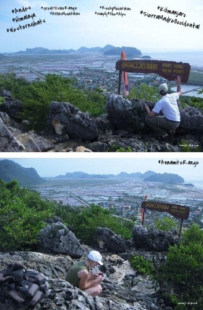 """Khao Dang, Khao Sam Roi Yot, Kui Buri District, Prachuap Khiri Khan Province, Thailand (12° 10′ 57″ N, 99° 56′ 54″ E)."""