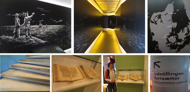 "Im Innern des Museums ""Kongernes Jelling""..."