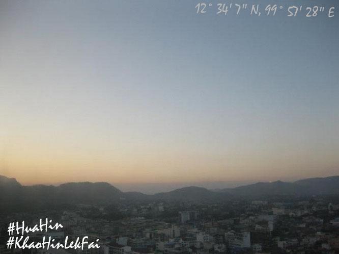Morgendämmerung über Hua Hin...