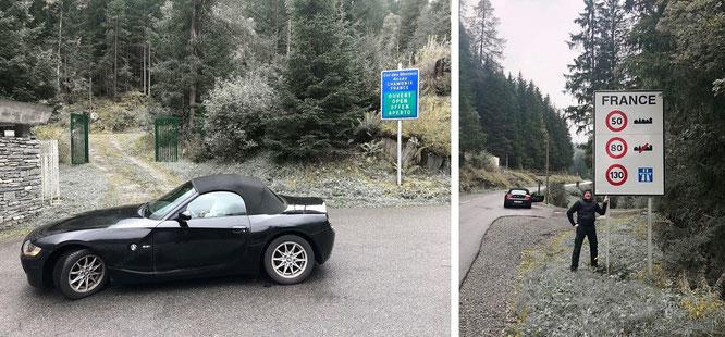 Auf meinem Weg nach Chamonix de Mont Blanc...