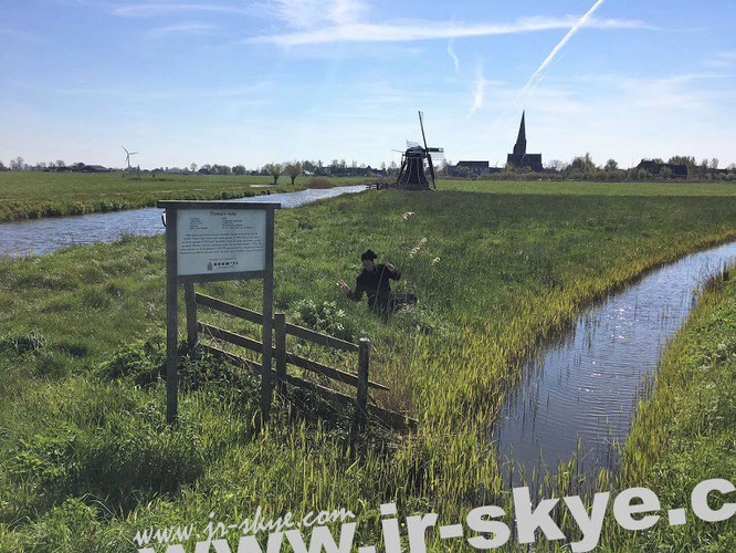 "I´m hunting windmills in #Netherlands: "" Pray, look better, sir... those things yonder are no giants, but windmills."" Miguel de Cervantes. Ybema´s Mole, Workum/Friesland (52° 59′ 12″ N, 5° 26′ 38″ E)..."