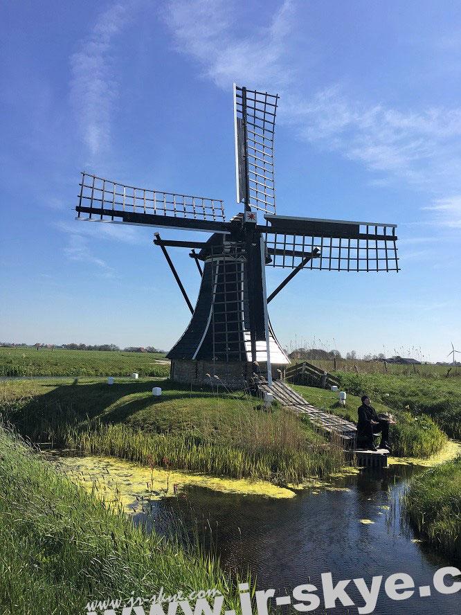JR Skye Reiseblog Niederlande Netherlands Mühle Windmühle Jörg Rainer Kaminski Gelnhausen Hindeloopen Friesland Frankfurt Holland