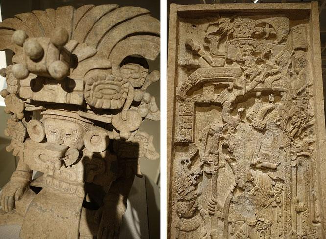Monte Alban (Zapoteca, Oaxaca de Juárez, Oaxaca) & Guatemala (Maya), 6. & 8. Jahrhundert n. Chr. - Mexiko