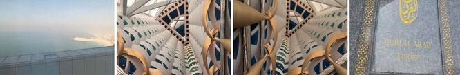 """Inside Burj el Arab, VAE / Dubai (25° 8′ 28″ N, 55° 11′ 8″ E)."""