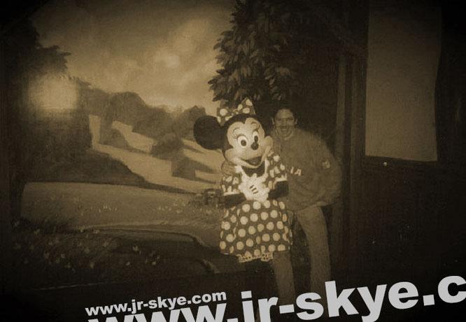 Zusammen mit Daisy in Orlando, Florida/USA. Foto: Mickey
