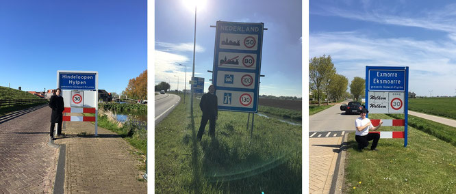 Weder Latein noch Spanisch - sondern ganz einfach niederländische Landkultur: Exmorra Eksmoarre...