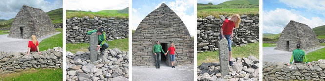 Gallarus Oratory (Séipéilín Ghallarais), Dingle Peninsula, Kerry (52° 10′ 21″ N, 10° 20′ 58″ W)...