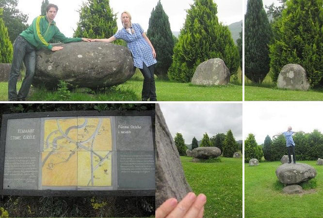 """""""One of the largest stone circles in south west Ireland: Kenmare Stone Circle."""""""