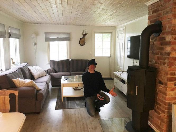 Übernachtungsmöglichkeit in Norwegen...