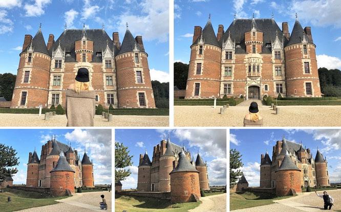 Château Martainville, Martainville-Épreville/Seine-Maritime, Normandie, Frankreich (49° 27′ 30″ N, 1° 17′ 37″ E)...