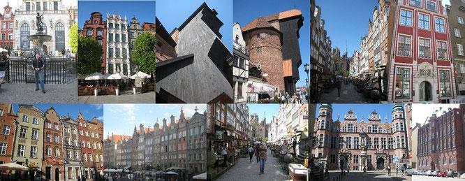 Gdansk (Danzig): Die ehemalige Hansestadt hat mich mit ihren prächtigen Bauten während meines 1. Besuches völlig überrascht. Mehr dazu im entsprechenden Reisebericht...