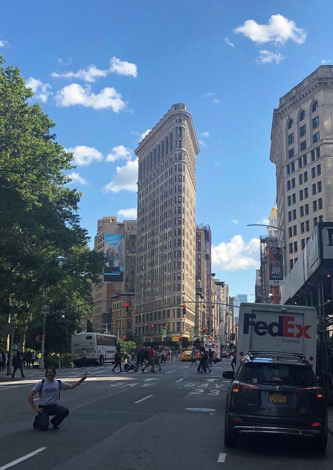 @Susan @Steve @Carl L. Conway Flatiron Building, Fith Avenue/Broadway/23rd Street, Manhattan, New York City - 40° 44′ 28″ N, 73° 59′ 23″ W