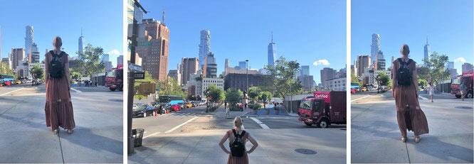 One World Trade Center, New York City - 40° 42′ 46.8″ N, 74° 0′ 48.6″ W. With Mona-Liza...