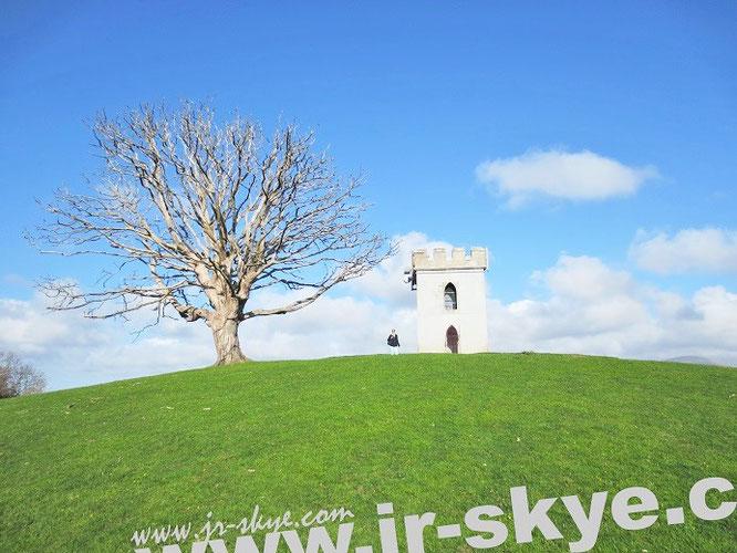 Watch Tower, St. Helen´s Park. Von diesem Punkt aus genießt Ihr einen exzellenten Blick auf Caernarfon Castle...