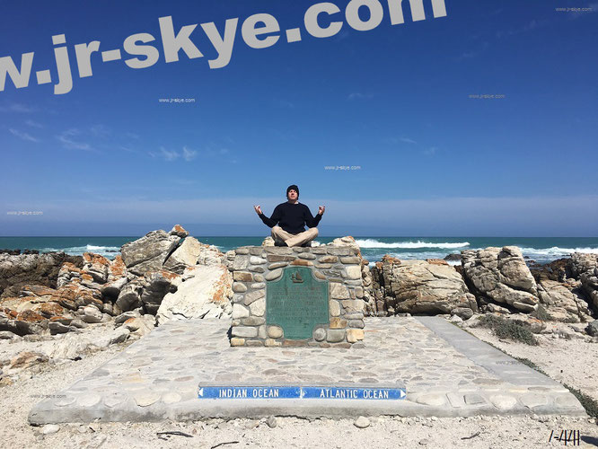 "Südlichster Punkt des Afrikanischen Kontinents: ""Southernmost Point of African Continent (Cape Agulhas), South Africa."""