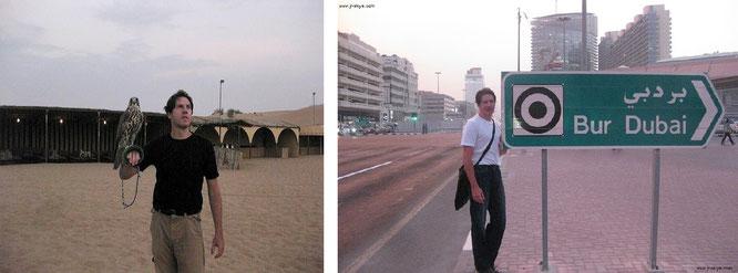 ...im Oman (links) und in Dubai (rechts)!