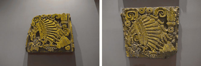 Weder Maya noch aztekisch: toltekisches Relief, ca. 1.000 n. Chr. - Mexiko