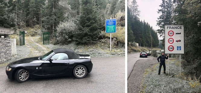 """On my way to Chamonix-Mont-Blanc - again... @GajdaLiza  #CEO #Business #France #Switzerland #Logistics #Management #TravelBlog #Reiseblog #BMW #Roadster #climb #climbing."""