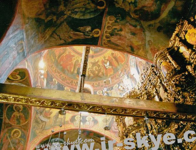 Johanneskloster (Monastery of Saint John the Theologian/Monastery of Saint John the Divine), Patmos (37° 18′ 33.08″ N, 26° 32′ 52.99″ E)...