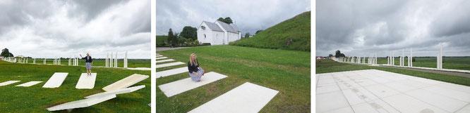 Das erste dänische UNESCO-Weltkulturerbe: Hügelgrab (958/59 n. Chr.) und Kirche (um 1100) - Jelling!