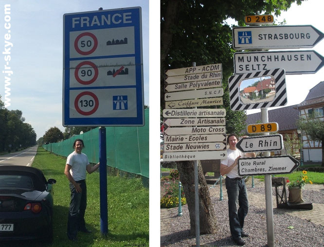 """Cross the french border: from Strasbourg to Paris (48´51´24´N...). Great #europe #trip #vacation #france #BMW #adventure""..."