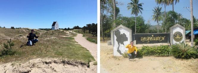 """Die versandete Kirche/tilsandede kirke #Skagen #Dänemark & aus meinem aktuellen Twitter-Feed: ""My location: #border of #Myanmar #Burma #Thailand (11° 48′ 0´N, 99° 47′ 0´ E). #Asia #travel - west of Prachuap Khiri Khan""..."