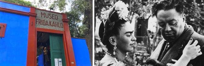 Verfallen: Frida Kahlo - und ihre Beziehung zu Diego María de la Concepción Juan Nepomuceno Estanislao de la Rivera y Barrientos Acosta y Rodríguez. Taylor-Burton like...