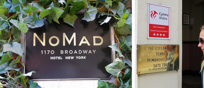 Nomad, 1170 Broadway, New York City und in Pembrokeshire, Wales