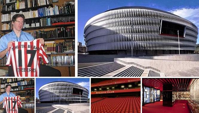 """My special one next to Eintracht Frankfurt: Athletic! #Athletic #AthleticClub #Bilbao."""