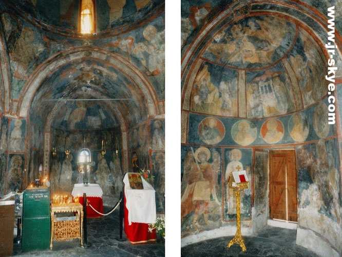 I spent 10 months in Greece. One of my favourite styles: Byzantine architecture - preserved in thousands of Orthodox chapels and churches...
