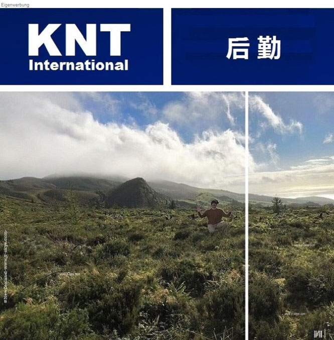 """In the middle of the Atlantic Ocean (Acores, b.) and the southwestern Pacific (New Zealand, a.): """"Kia ora from Aoraki/Mount Cook National Park, New Zealand/South Island (Te Waipounamu, 43° 59′ 0″ S, 170° 27′ 0″ E)."""""""