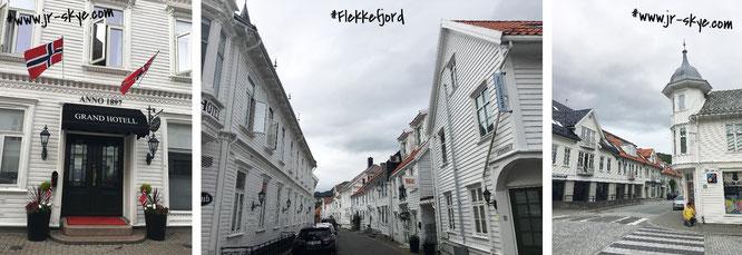 Flekkefjord (58° 19′ 0″ N, 6° 40′ 0″ E)!