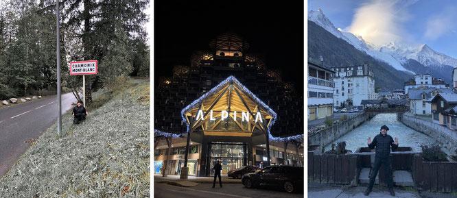 """Chamonix de Mont Blanc, Alpina Hotel, France."""