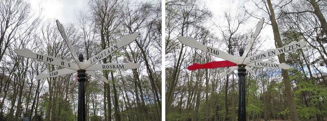 Der Wegweiser oder das Schild aller Schilder. Inklusive: Ein Hinweis zur Lage des verborgenen 7. Weges - in Gestalt einer farbtongleichen Spektralfarbe im unteren Bereich des menschlichen Sehspektrums...